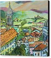 Perugia Italy Canvas Print