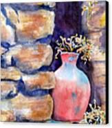Peruvian Pot Canvas Print