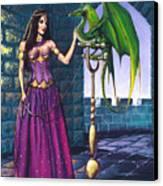 Pet Dragon Canvas Print
