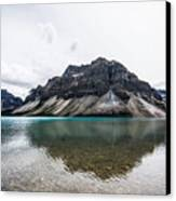 Peyto Lake Alberta Canvas Print by Adnan Bhatti