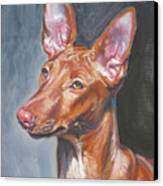 Pharaoh Hound Canvas Print by Lee Ann Shepard