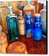 Pharmacist - Medicine Cabinet  Canvas Print by Mike Savad