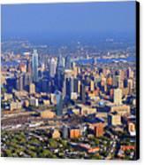 Philadelphia Aerial 0518 Canvas Print by Duncan Pearson