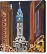 Philadelphia City Hall Canvas Print by Patricia Arroyo