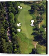 Philadelphia Cricket Club Militia Hill Golf Course 12th Hole Canvas Print by Duncan Pearson