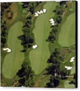 Philadelphia Cricket Club Militia Hill Golf Course 17th Hole Canvas Print by Duncan Pearson