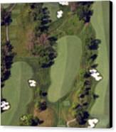 Philadelphia Cricket Club Militia Hill Golf Course 18th Hole Canvas Print by Duncan Pearson