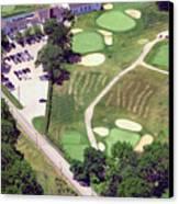 Philadelphia Cricket Club Wissahickon Golf Course 10th Hole Canvas Print by Duncan Pearson
