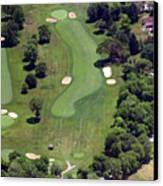 Philadelphia Cricket Club Wissahickon Golf Course 16th Hole Canvas Print by Duncan Pearson