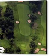 Philadelphia Cricket Club Wissahickon Golf Course 5th Hole Canvas Print by Duncan Pearson