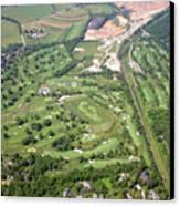 Philadelphia Cricket Club Wissahickon Militia Hill Golf Courses Canvas Print by Duncan Pearson