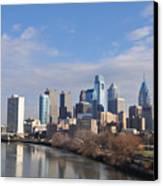 Philadelphia From The South Street Bridge Canvas Print