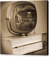 Philco Television  Canvas Print