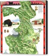 Philmont Scout Ranch Poster Art Canvas Print