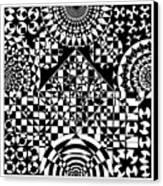 Philosophers Kaleidoscope Canvas Print
