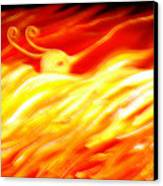 Phoenix Canvas Print by Barbara Stirrup