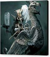 Phoenix Goblineer Canvas Print by Paul Davidson