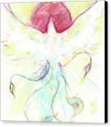 Phoenix Sun Canvas Print by Brandy Woods