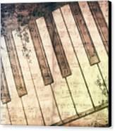 Piano Days Canvas Print