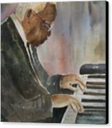 Piano Jazz Canvas Print