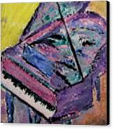 Piano Pink Canvas Print by Anita Burgermeister