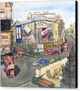 Picadilly Circus Canvas Print