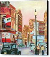Picadilly  Canvas Print