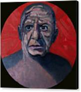 Picasso The Artist Icon Canvas Print