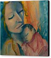 Picture Of Love Canvas Print by Mary DuCharme