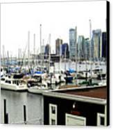 Picturesque Vancouver Harbor Canvas Print
