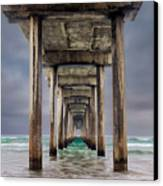 Pier Canvas Print by Doug Oglesby