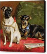 Pierette And Mifs Canvas Print