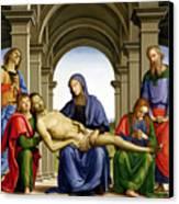 Pieta Canvas Print by Pietro Perugino