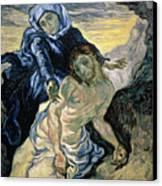 Pieta Canvas Print by Vincent van Gogh