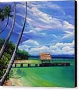 Pigeon Point   Tobago Canvas Print