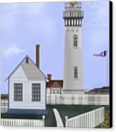 Pigeon Point Lighthouse California Canvas Print