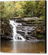 Pigpen Falls Oconee County Sc Canvas Print by Lane Owen