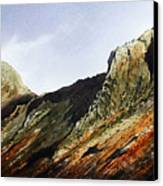 Pike O' Stickle And Loft Crag Canvas Print