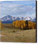 Pikes Peak In The Fall Canvas Print