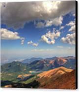 Pikes Peak Summit Canvas Print