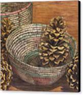 Pinecones Canvas Print