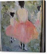 Pink Ballet Canvas Print
