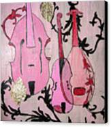 Pink Baroque Canvas Print