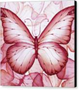 Pink Butterflies Canvas Print by Christina Meeusen
