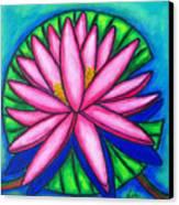 Pink Gem 2 Canvas Print by Lisa  Lorenz