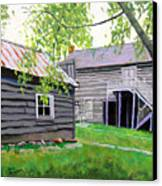 Pioneer Village One Canvas Print