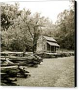 Pioneers Cabin Canvas Print