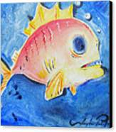 Piranha Art Canvas Print