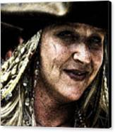 Pirate Queen Canvas Print by David Patterson