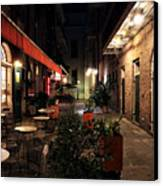 Pirates Alley At Night Canvas Print